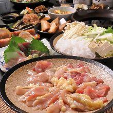 3,000日圓套餐 (4道菜)