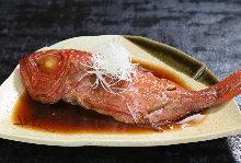 紅燒金目鯛