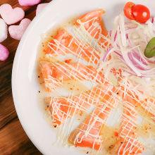 每日更換意式生醃魚肉片