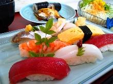 上等握壽司拼盤 附味噌湯