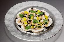 生蘑菇沙拉