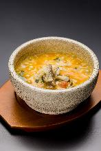 石鍋起司燉飯