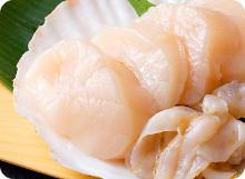 扇貝(生魚片)