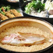 8,100日圓套餐 (7道菜)