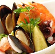 檸汁醃生魚