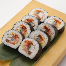 海鮮粗捲壽司