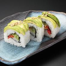 壽司捲拼盤