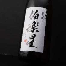 Hakurakusei Special Junmai sake