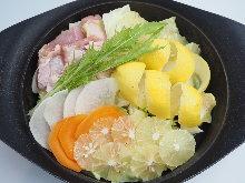 鹽味相撲火鍋