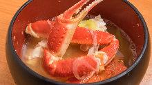 螃蟹味噌湯