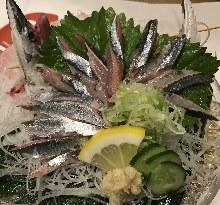 秋刀魚(生魚片)