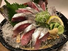沙丁魚(生魚片)