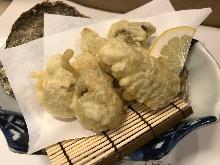 牡蠣天婦羅