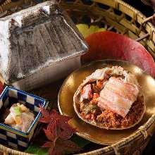 13,000日圓套餐 (10道菜)