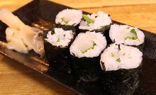 鹹菜捲壽司