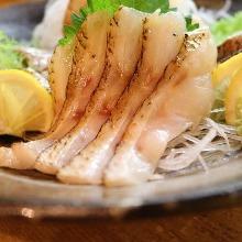 薄切赤鯥生魚片