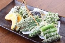 蔬菜天婦羅拼盤