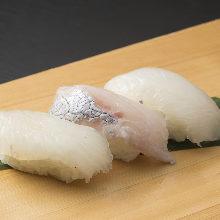 3種握壽司拼盤