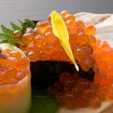 鮭魚卵軍艦壽司