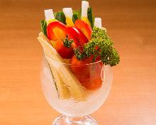蔬菜棒 可選2種蘸醬汁