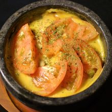 番茄辣椒醬石鍋起司培根義大利麵