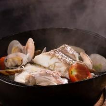 日本酒意式燉海鮮