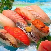 每日更換握壽司拼盤