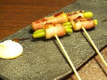 培根卷蘆筍串