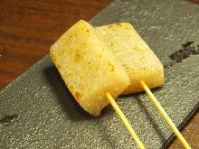 魔芋包魚籽鐵板燒