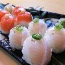 5種壽司球拼盤
