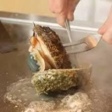 鮑魚鐵板燒