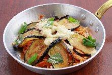 茄子茄汁義大利麵