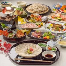 18,630日圓套餐 (8道菜)