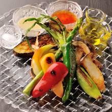 烤時令蔬菜