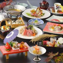 8,000日圓套餐 (10道菜)