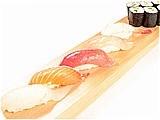 5種握壽司拼盤