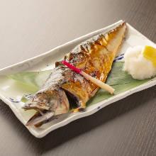 炭火烤鯖魚