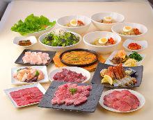 5,346日圓套餐 (14道菜)