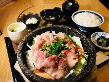 牛燒肉定食