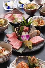 5,800日圓套餐 (9道菜)