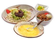 炸醬麵與味噌蓋飯套餐