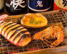 烤海鮮拼盤
