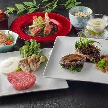 16,632日圓套餐 (9道菜)