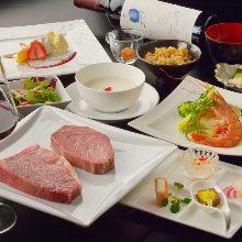 18,480日圓套餐 (9道菜)