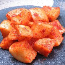 蘿蔔塊泡菜
