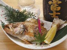 鹽烤赤鯥魚